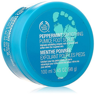 THE BODY SHOP® Peppermint Smoothing Pumice Foot Scrub