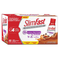 SlimFast Advanced Nutrition Caramel Latte Protein Shakes