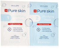 Oriflame Pure Skin 1 Clarifying Scrub 2 Purifying Mask