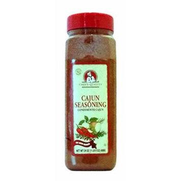 Chef's Quality Cajun Seasoning 24 OZ