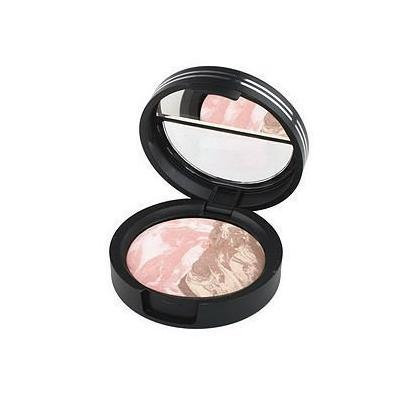 Laura Geller Sugar Free Marble Matte Baked Eyeshadow Duo, Strawberry Shortcake/Coffee Cake, .06 oz