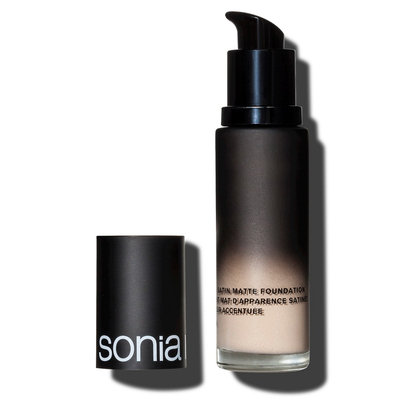 Sonia Kashuk Soft Focus Satin Matte Foundation Vanilla 2 1.1 Fl Oz