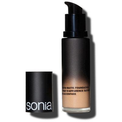 Sonia Kashuk Soft Focus Satin Matte Foundation Buff 4 1.1 Fl Oz