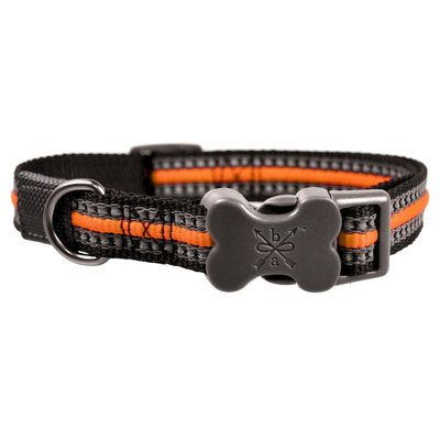 Bow & Arrow Grip Weave Collar - Orange (L)