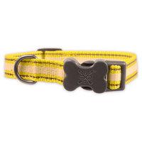 Bow & Arrow Glow-in-the-Dark & Reflective Collar - Neon Yellow (S)