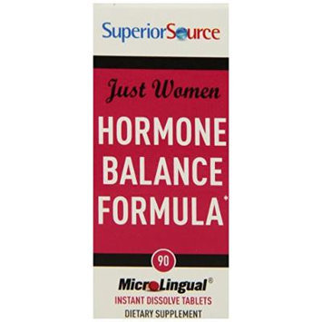 Superior Source Just Women - Hormone Balance Formula Nutritional Supplements, 90 Count