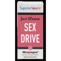 Superior Source Just Women - Sex Drive Tablets, 60 Count
