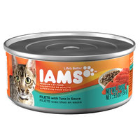 Iams ProActive Health Adult Cat Filets With Tuna In Sauce 5.5 Oz