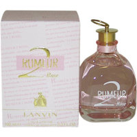 Rumeur 2 Rose by Lanvin for Women. Eau De Parfum Spray 3.3-Ounces