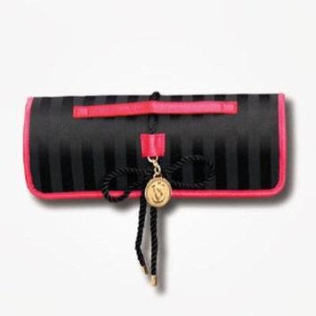 Victoria's Secret Limited Edition Black Roll-Up Makeup Bag