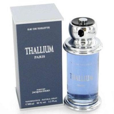 Jacques Evard Thallium by Yves De Sistelle for Men 3.3 oz Eau De Toilette Spray