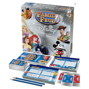 Cardinal Industries Cardinal Games Disney Family Feud Game