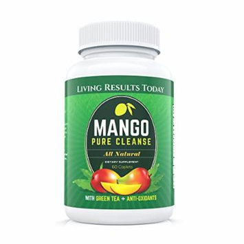 Living Results Today Mango Pure Cleanse Mango Extract and Green Tea Diet Pills, 60 Caplets
