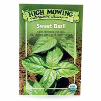 High Mowing Organic Seeds Sweet Basil 1 Pkts