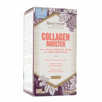 ReserveAge Organics Collagen Booster with Hyaluronic Acid & Resveratrol, Capsules 120 ea