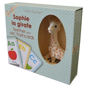 Sophie la Girafe + Flash Card Gift Set, Ivory