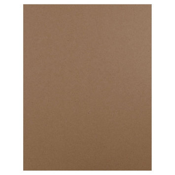 Jam Paper & Envelope 8 1/2 x 11 Brown Kraft Paper Bag 100% Recycled 60lb Cover Cardstock - 50 sheets per pack