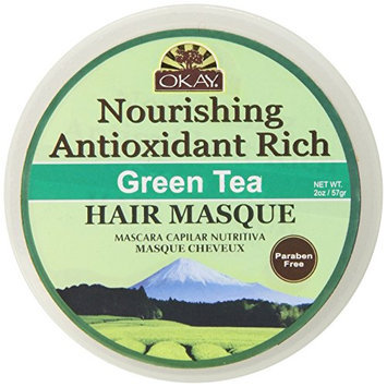 Okay Green Tea Nourishing Antioxidant Rich Hair Masque