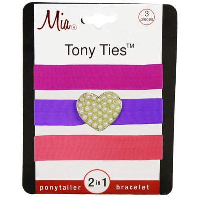 Mia Tony Ties with Charms