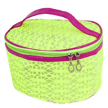 Uxcell Hollow Out Design Zip Up Cosmetic Bag or Holder