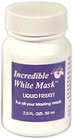 Alvin & Company WM2 2oz. White Mask Latex Liquid Frisket for Painting Supplies