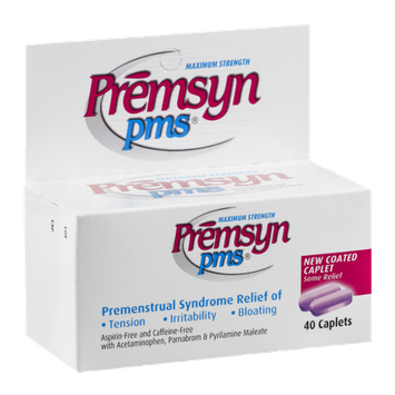 Premsyn PMS Maximum Strength Caplets - 40 CT