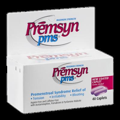 Premsyn PMS Maximum Strength Caplets - 40 CT