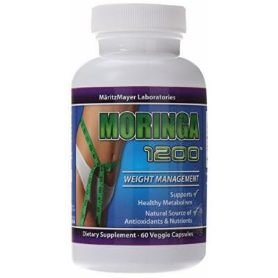 MaritzMayer Moringa 1200, Weight Management, Healthy Metabolism, 60 Veggie Capsules (60)