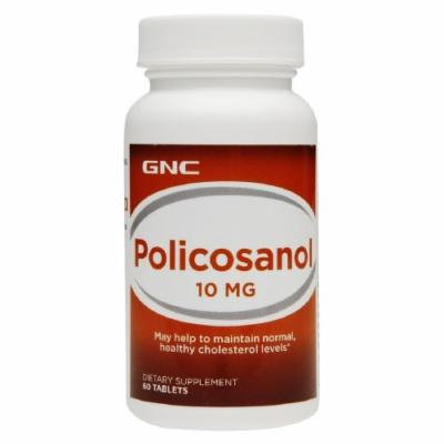 GNC Policosanol, Tablets 60 ea (Pack of 2)