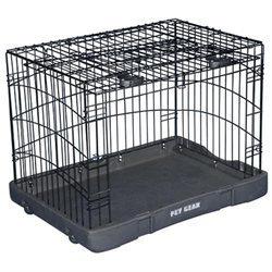 Pet Gear TL5927BK Travel Lite Steel Crate - Small
