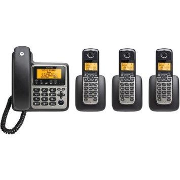 Motorola Corded/Cordless 3 Handsets Answering Sys