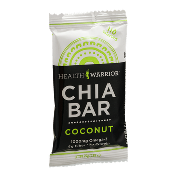 Health Warrior Chia Bar Coconut