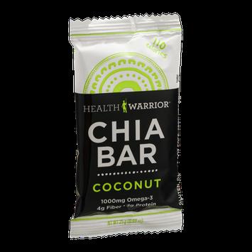 Health Warrior Chia Bar Coconut