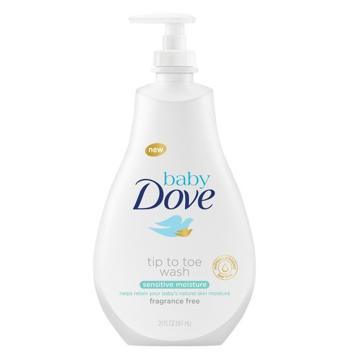 Baby Dove Sensitive Moisture Tip-to-Toe Wash