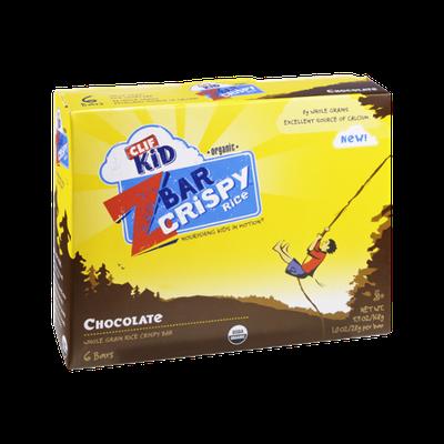 Clif Kid *Organic* Chocolate Crispy Rice Z Bar - 6 CT