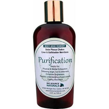 Purification Body Mind Vibrational Remedy Lotion 3.8 oz. for Anger, Resentment made with Bach Flower Essences and Pure Essential Oils