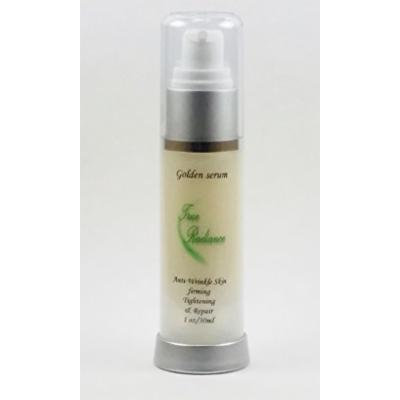 GOLDEN SERUM for Skin tightening, firming and sagging prevention. Also has 20% Argireline, DMAE, APT (Red marine Algae), Pepha tight, Hyaluronic acid, Vitamin A (retin-a), Vitamin C, and Syncoll plus much more. 1 oz/30ml.