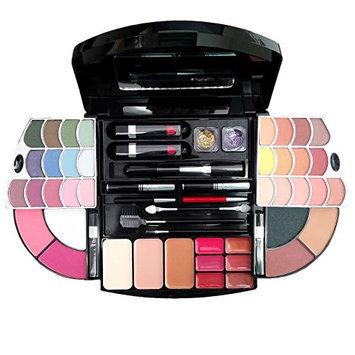 Cameo Cosmetics Premium Makeup Kit Set with Multi-Layered Plastic Compact