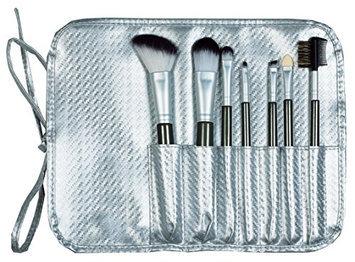 Danielle 7 Piece Roll-Up Makeup Brush Set