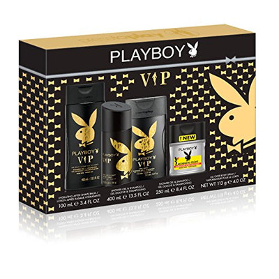 Playboy VIP 4 Piece Gift Set
