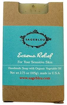 Sagebleu Organic Bar Soap Eczema Relief