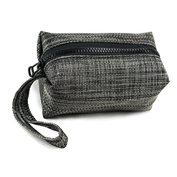 DII Oceanique Everyday  Personal Care Essentials Cosmetic Bag/ Wristlet Pouch For Makeup