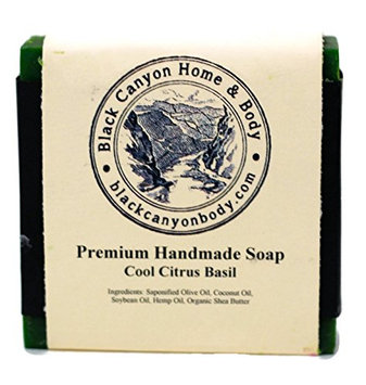 Black Canyon Home and Body Hand Crafted Bar Soap(Citrus Basil Scent)