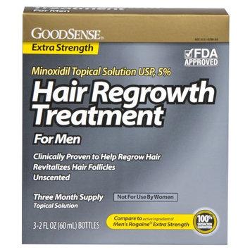 GoodSense Minoxidil Topical Solution 5% Hair Regrowth Treatment