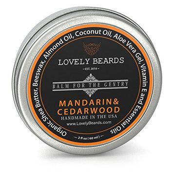 Lovely Beards Mandarin & Cedarwood Beard Balm