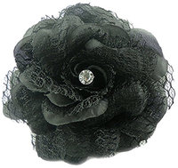Linda Fashion Eccentric Flower Pin Hair Clip