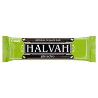 CamelNatural Sesame Bar, Halvah, Pistachio Flavor, 3-Ounce Bar, (Pack of 10)