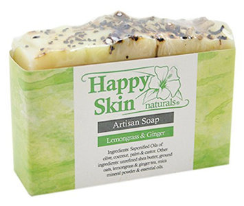 Happy Skin Naturals Lemongrass & Ginger Artisan Soap