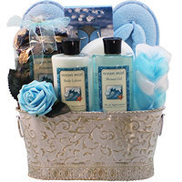 Art of Appreciation Gift Baskets Ocean Mists Renewal Spa Relaxing Bath and Body Gift Set