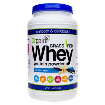 Orgain, Inc. Grass Fed Whey Protein